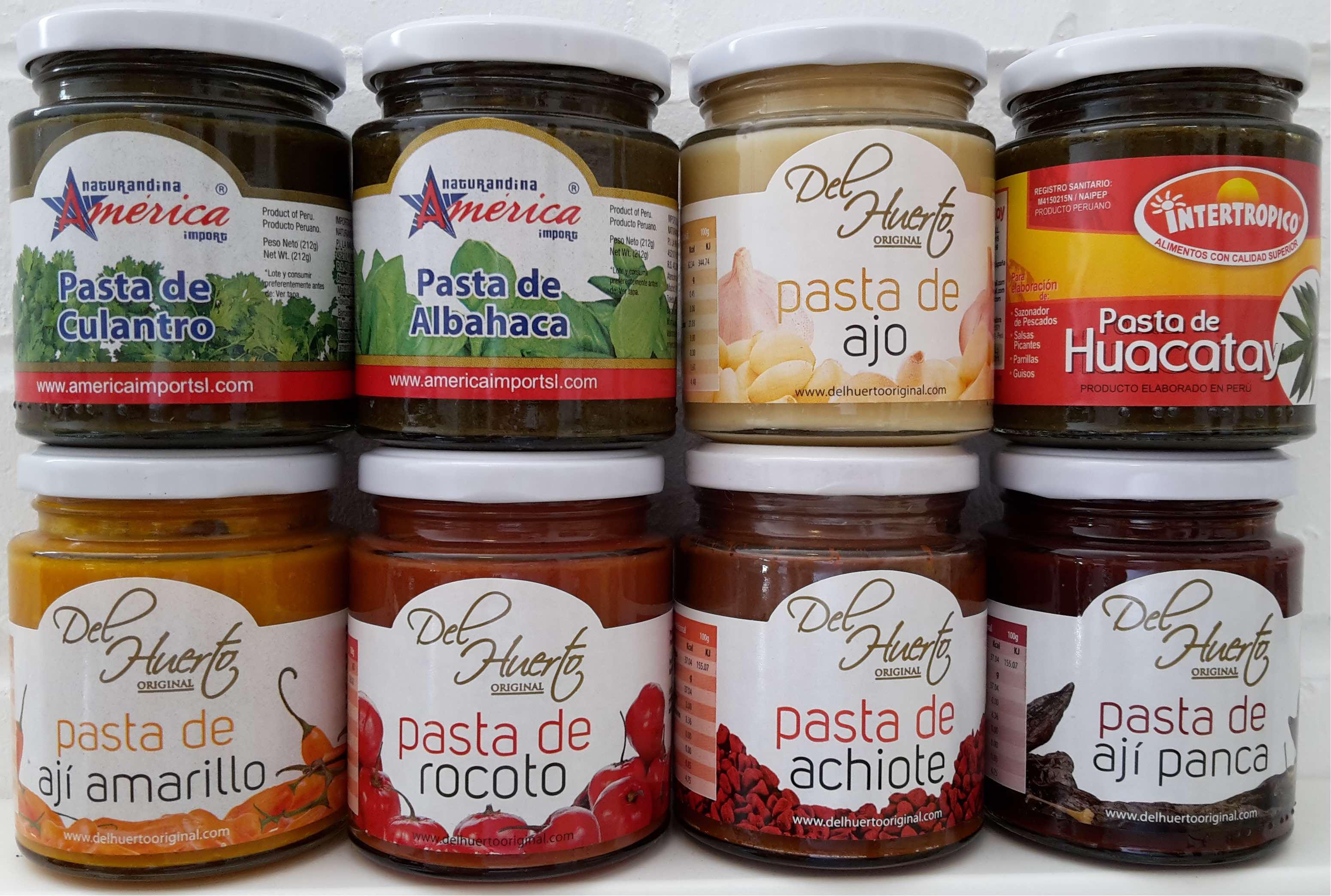 Chilipasten aus Peru