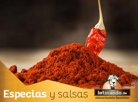 Especias condimentos y Sazon de latinoamerica