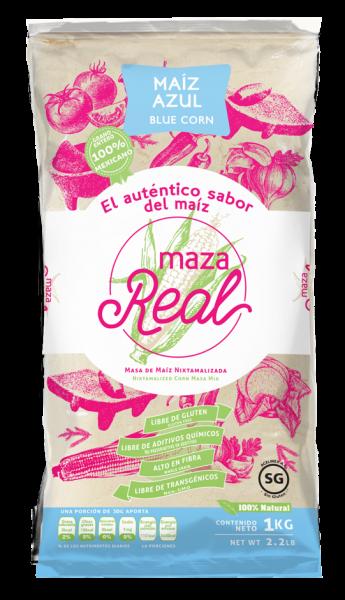 Nixtamalisiertes blaues Maismehl für Tortillas MAZAREAL