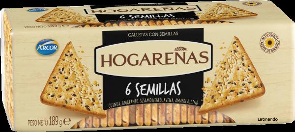 Hogarenas 6 Semillas - Arcor - 189g
