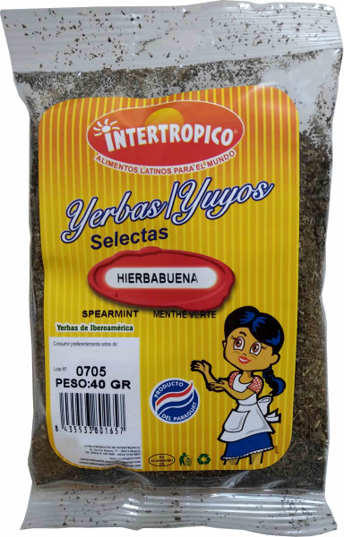 Hierbabuena - Spearmint - Menthe Verte - Minze