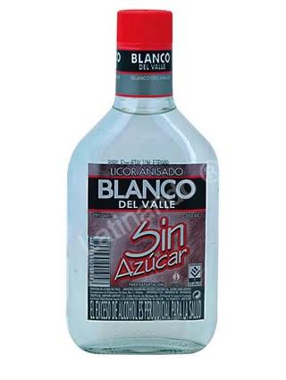 Aguardiente Blanco del Valle ohne Zucker - 350ml