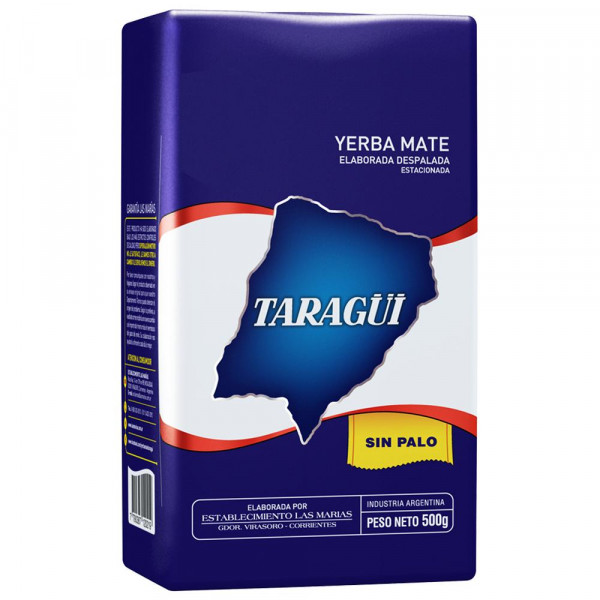 TARAGÜI Sin Palo (ohne Stängel - Pure Leaf) - 500g