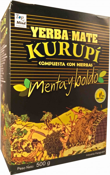 KURUPI Compuesta Menta y Boldo - 500g