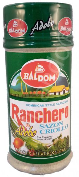 BALDOM RANCHERO CRIOLLO VERDE ohne Pfeffer