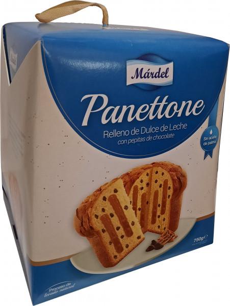 Panettone con Dulce de Leche