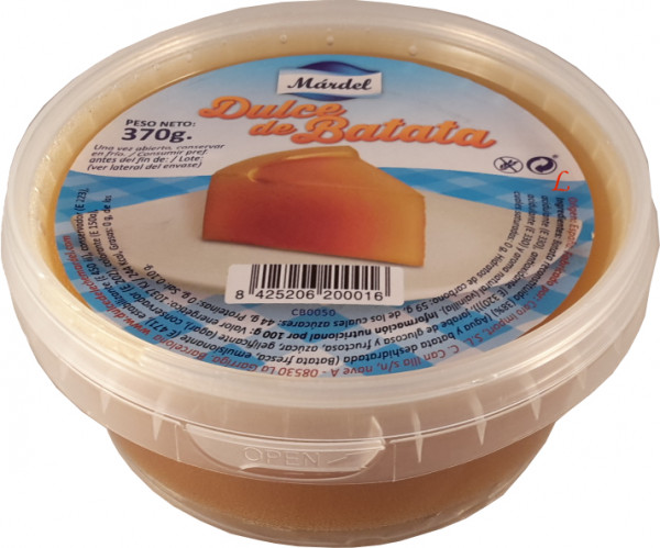 Dulce de Batata - Suesskartoffeldessert - MARDEL - 370g