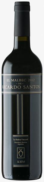 El Malbec de Ricardo Santos 750ml