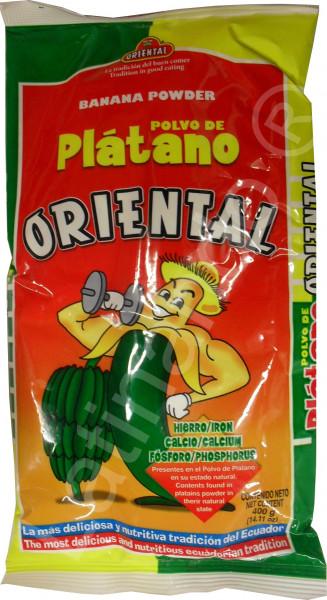 Kochbananenmehl ORIENTAL - Ecuador - 400g