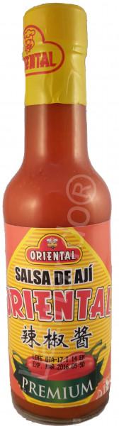 Paprika Sauce scharf - ORIENTAL - Ecuador - 200ml