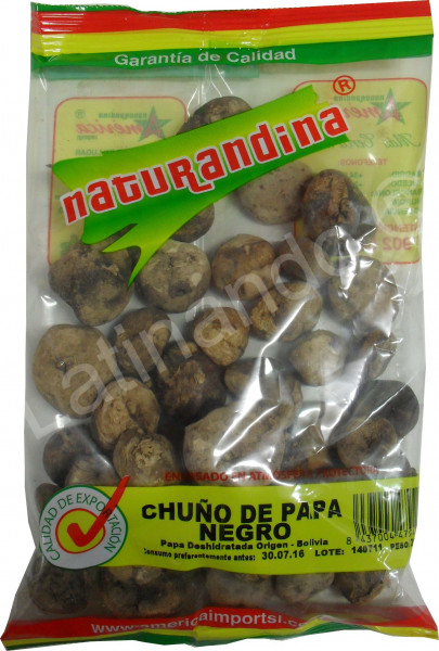 Getrocknete Kartoffel - Chuño de Papa Negro - 250g