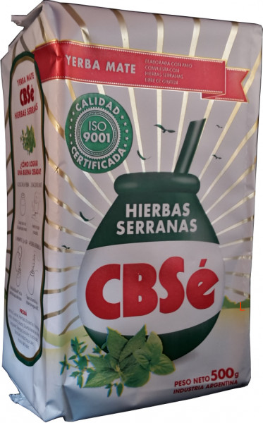 CBSE Mate Tee Compuesta Hierbas serranas - 500g