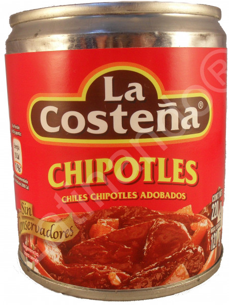 Chipotles in Adobo - La Costeña - Mexiko - 220g