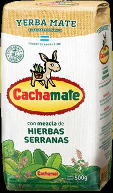 Cachamate Hierbas Serranas - Mate Tee 500g
