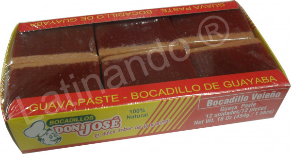 Bocadillo de Guayaba Veleno Combinado | Guavenpaste |Don Jose 454g