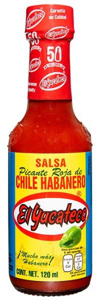 Salsa Roja de Chile Habanero - El Yucateco