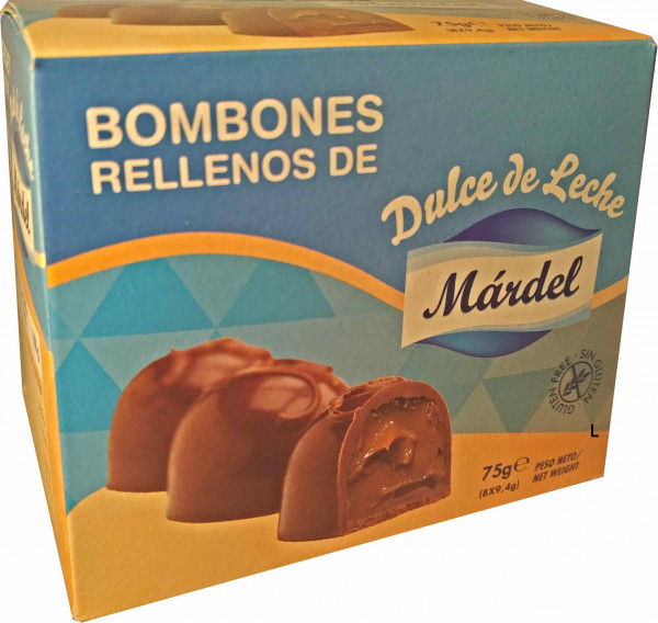 Bombon Chocolate con Dulce de Leche - Mardel