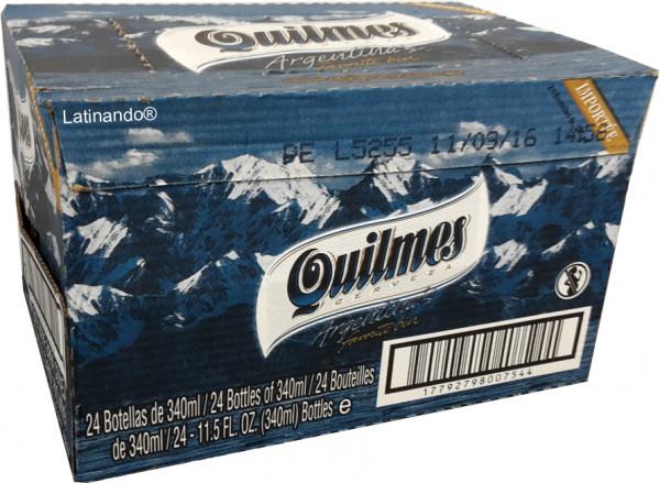 Quilmes Bier | 24 Flaschen