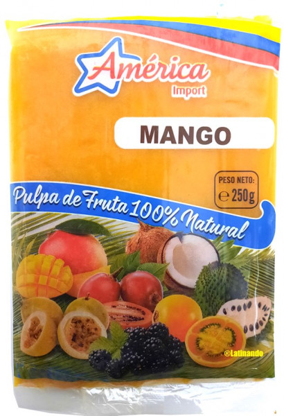 Pulpa de Mango - Mango Fruchtmark - 250g