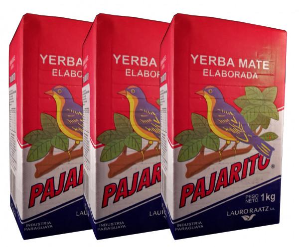 PAJARITO Tradicional - Mate Tee aus Paraguay - 3x1Kg