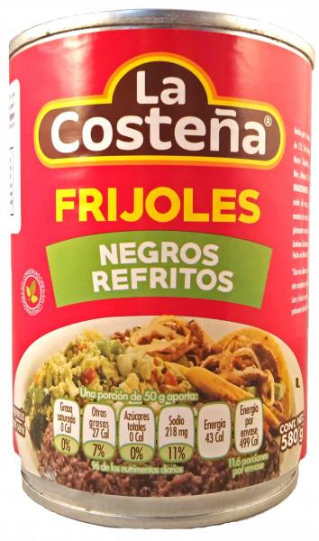 Frijoles Negros Refritos - La Costena - Mexiko - 580g