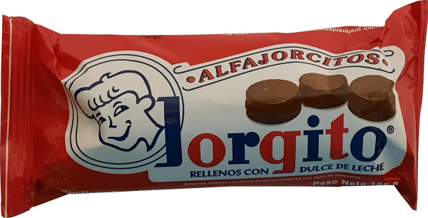 Mini Alfajores Jorgito - Chocolate - 6 Stk