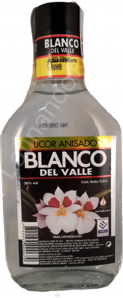 Aguardiente Blanco del Valle - 350ml