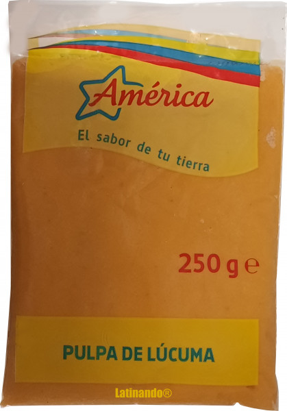 Pulpa de Lucuma - Lucumafruchtmark - America - 250g
