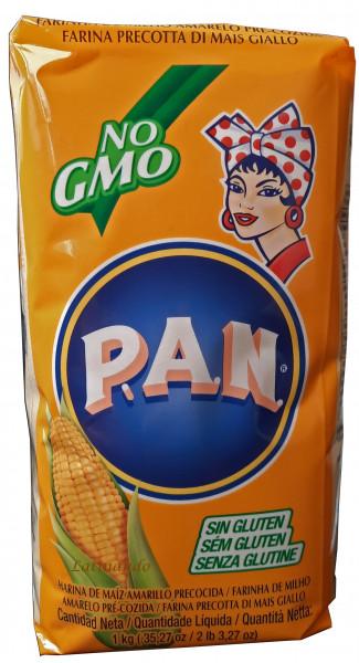Harina PAN Amarilla - Gelbes Maismehl 1Kg