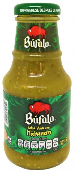 Salsa Verde con Habanero - BUFALO - 250g