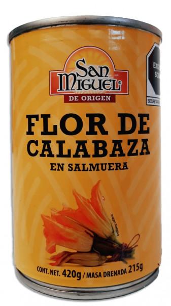 Flor de Calabaza - Zucchiniblüte - SAN MIGUEL - 400g