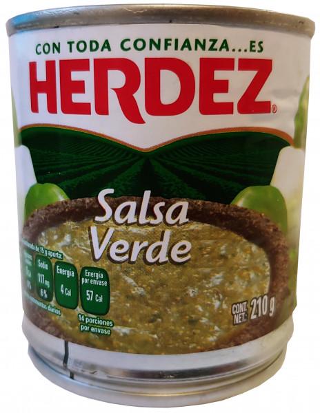 Salsa Verde HERDEZ 210g