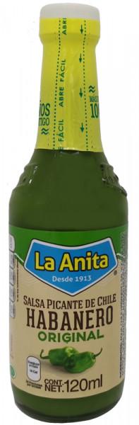 La Anita - Grüne Habanero Sauce - Salsa picante habanero 120ml