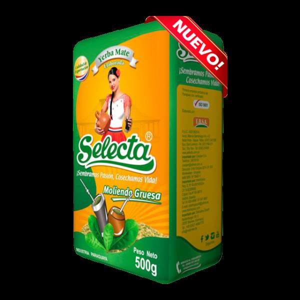 Selecta Molienda Gruesa - Mate Tee grober Schnitt - 500g