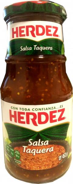 Salsa Taquera - HERDEZ - Glas - 453g