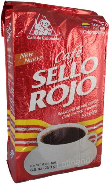 Cafe SELLO ROJO | Kaffee aus Kolumbien | gemahlen