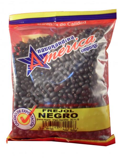 Frijoles negros | Frejoles Negros | Getrocknete schwarze Bohnen - 500g