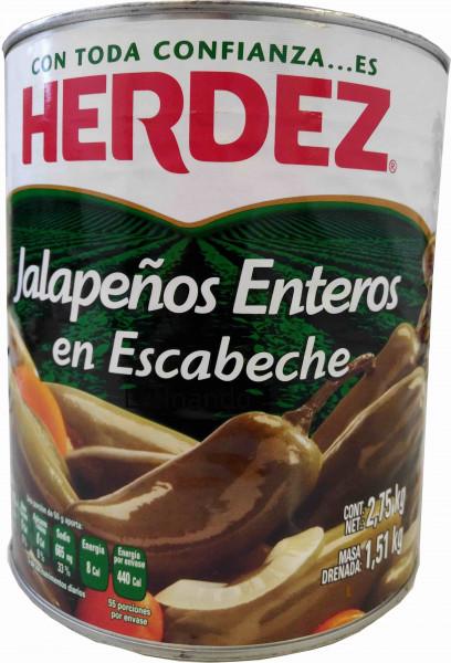 Jalapeno Entero - HERDEZ
