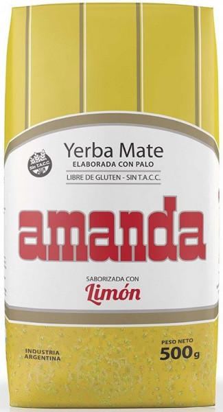 Amanda Limon - Mate Tee mit Zitronenaroma - 500g