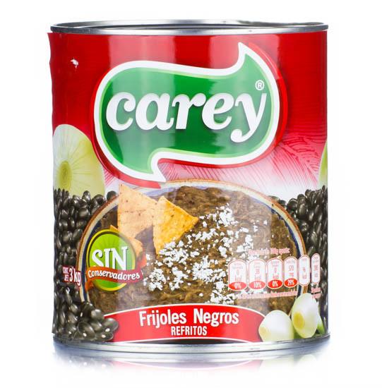 Frijoles Negros Refritos CAREY - 3 Kg
