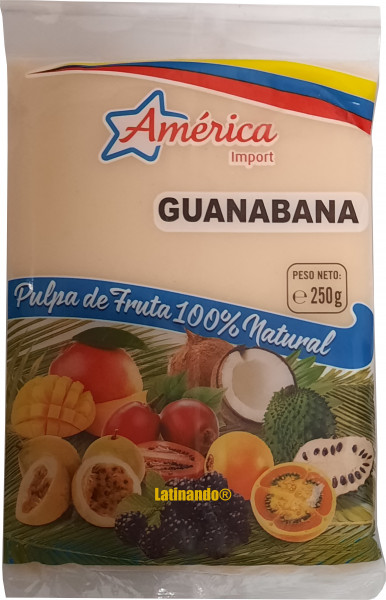 Pulpa de Guanabana - Stachelannone - America - 250g