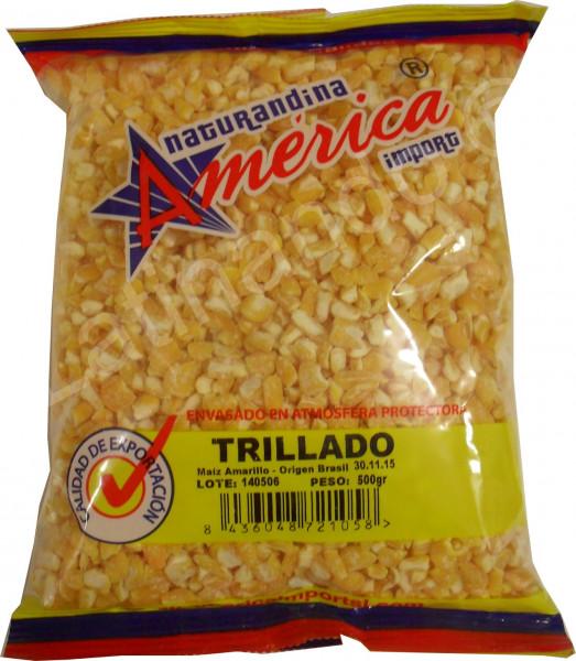 Gelber Mais - Maíz trillado amarillo - 500g