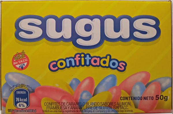 Caramelos Sugus Confitados - Kaubonbons 50g
