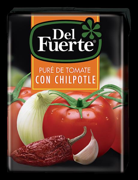 DEL FUERTE - Pure de Tomate con Chipotle - 210g