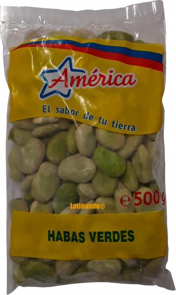 Habas verdes - Peruanische grüne Bohnen - 500g