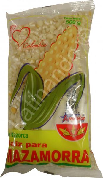 Weißer Mais für Mazamorra - Maíz Para Mazamorra - 500g