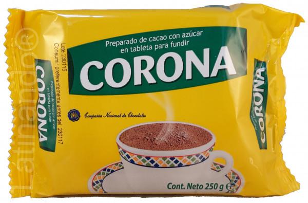 Chocolate CORONA | Trinkschokolade aus Kolumbien - 250g