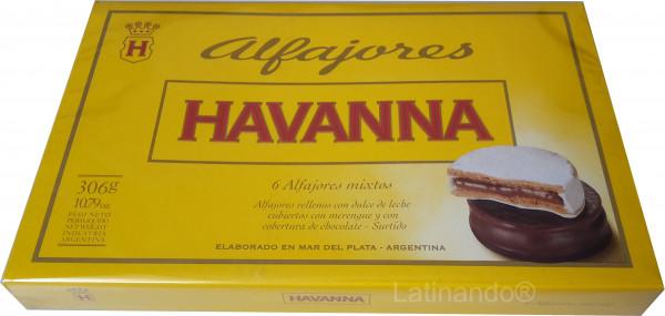 Alfajores HAVANNA Argentina | Mixtos 6er Packung