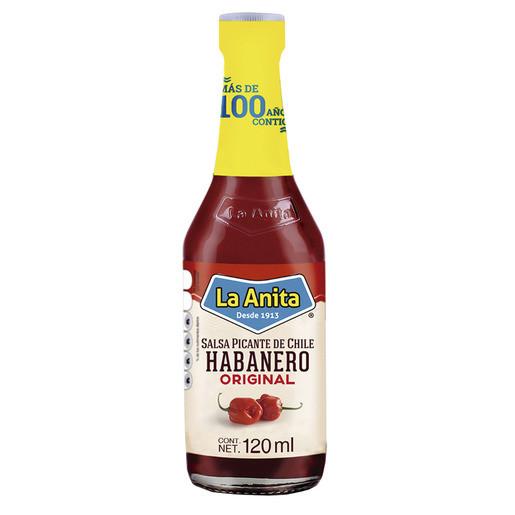La Anita - Salsa Habanera Roja - Rote Habanero Sauce