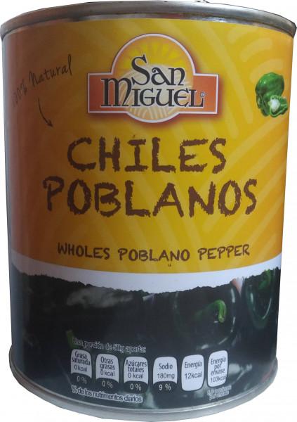 Chile Poblano Entero San Miguel - 780g
